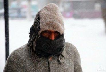 Украину скуют лютые морозы до -25° (видео)