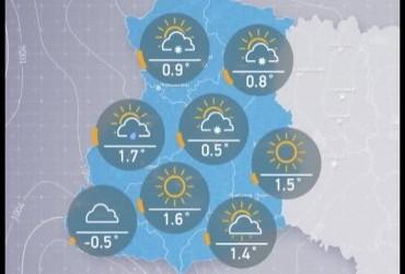 Прогноз погоды в Украине на пятницу, утро 19 января