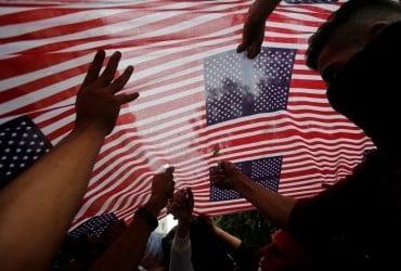 США и Мексику накрыли мощные наводнения (видео)