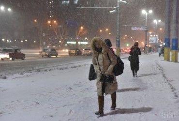 В Україні сьогодні буде холодно, на півдні та сході пройдуть дощі та сніг (карта)