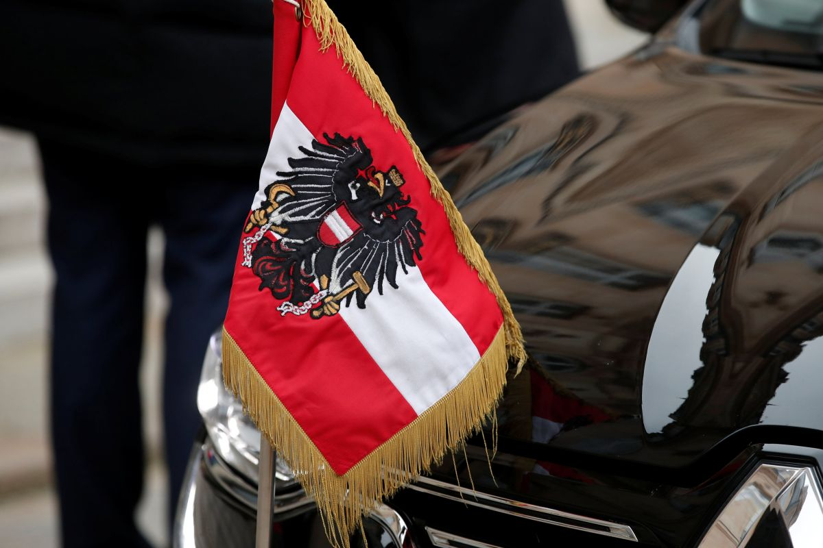 Флаг Австрии, иллюстрация / REUTERS