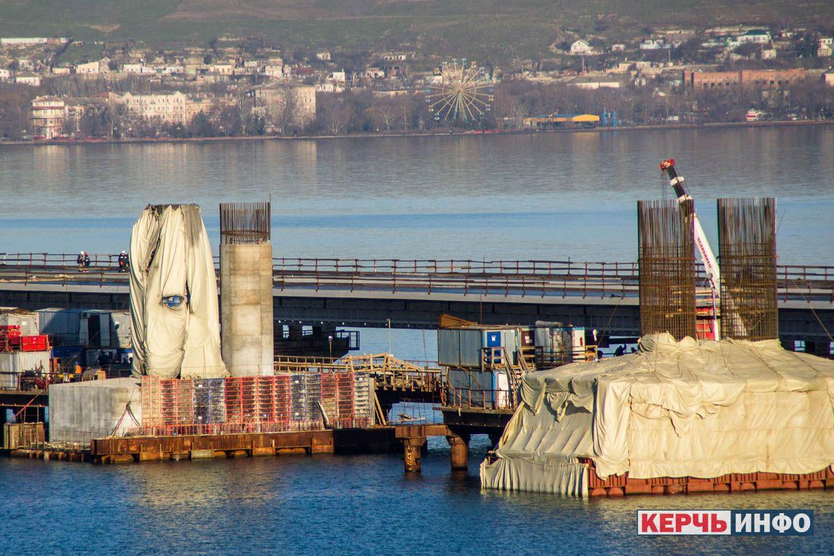 Окупанти у відповідь на повідомлення про великі проблеми Кримського мосту запевняють, що з