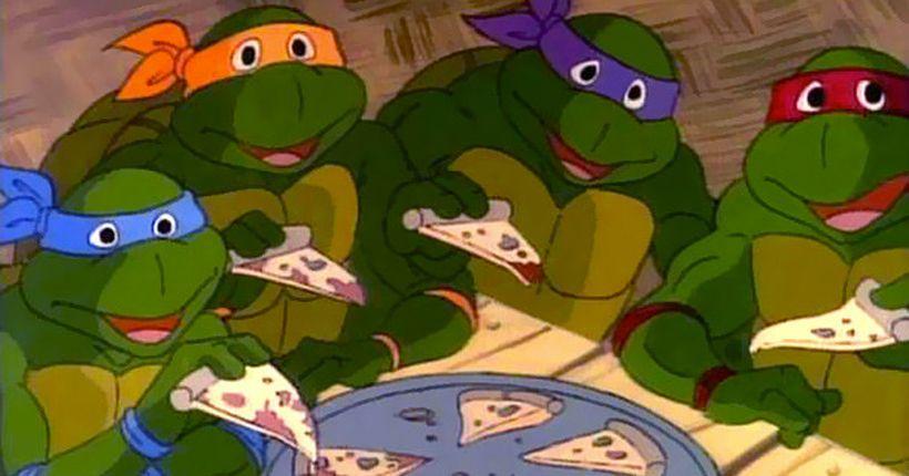 Пицца у черепашек-ниндзя может стать веганской / фото Cartoon Network