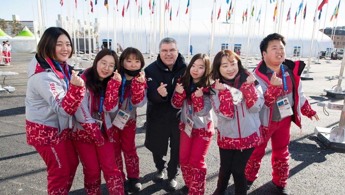 В Пхенчхане состоялоь открітие олимпийской деревни / IOC