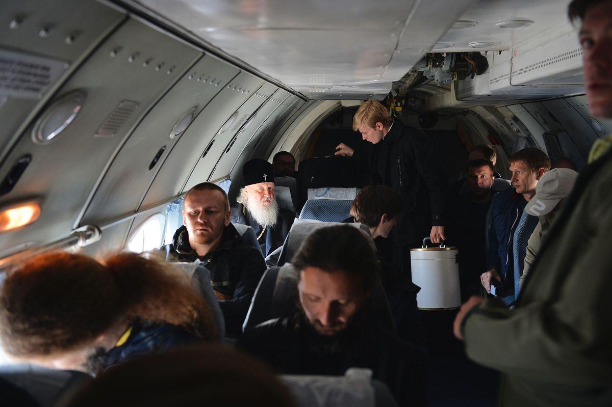 Переліт з селища Эгвекинот в село Лаврентія. Далекий Схід, вересня 2016 року / foma.ru
