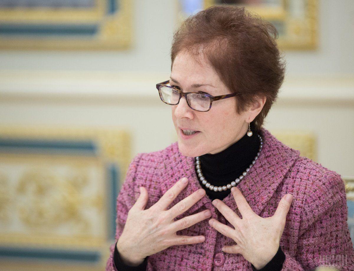 Колишній посол США в Україні Марі Йованович / фото УНІАН