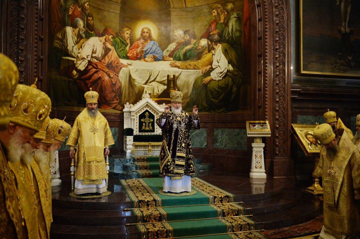 Під час Літургії Святіший Патріарх Кирил звершив молитву про мир в Україні / news.church.ua