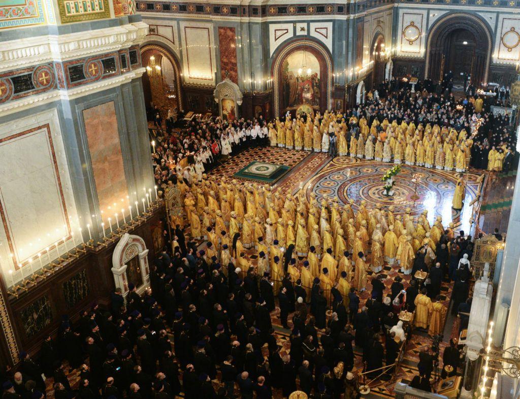 В этот день богослужение совершили более чем 200 епископов / news.church.ua
