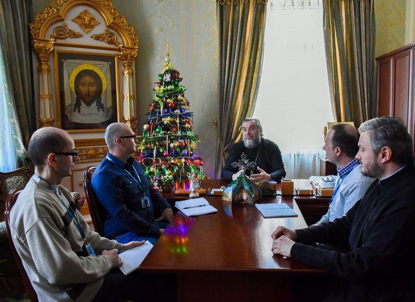 Встреча представителей ОБСЕ с духовенством УПЦ в Винницкой епархии / news.church.ua