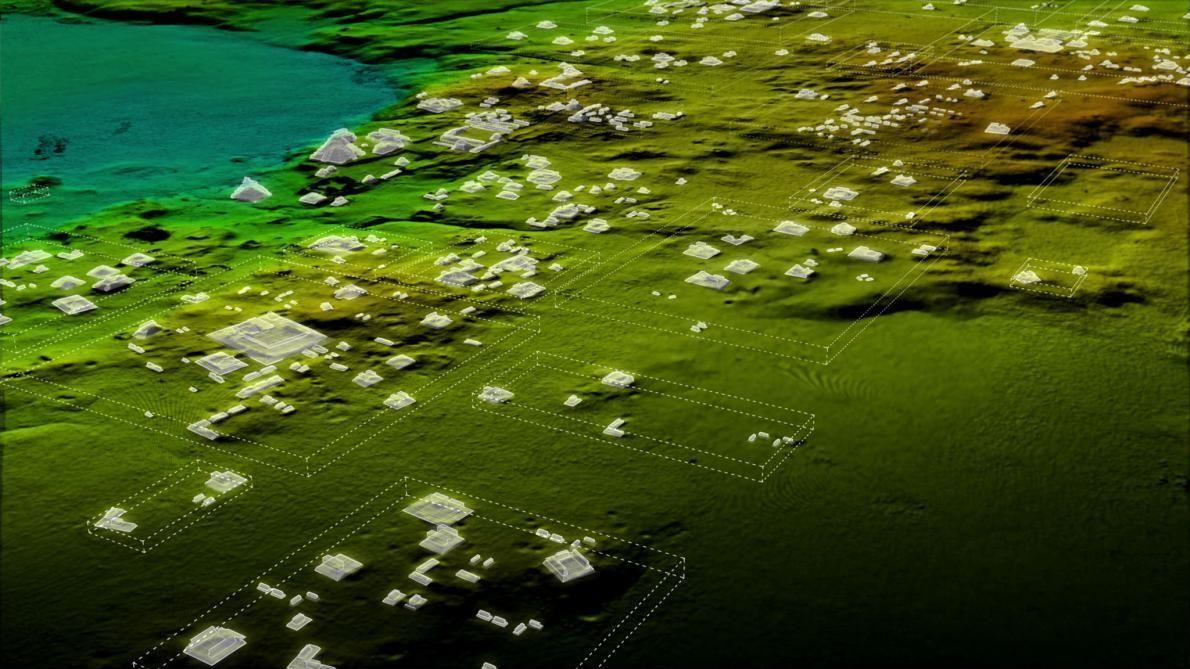 Місто вдалося виявити за допомогою лідара / фото WILD BLUE MEDIA/NATIONAL GEOGRAPHIC