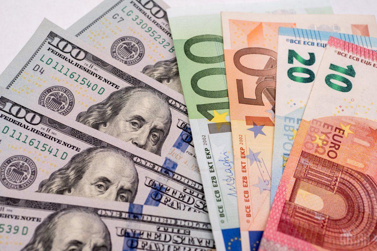 Долар і євро після вихідних подешевшають /фото УНІАН