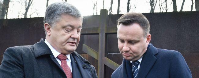 Петр Порошенко и президент Польши Анджей Дуда / president.gov.ua