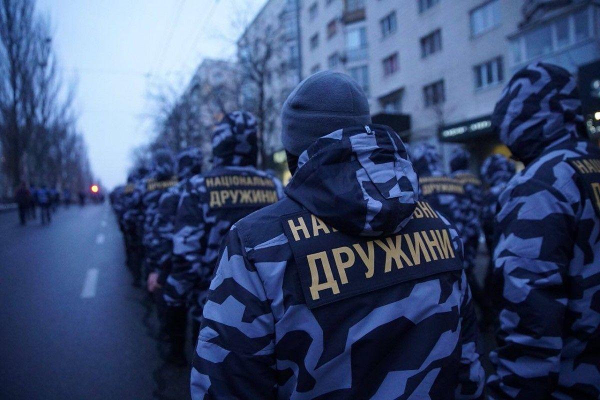 """""""Національні дружини"""" будуть спостерігати за виборами в Україні / фото facebook.com/ndrugua"""