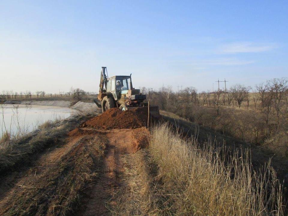 Бездействие боевиков по ремонту объектов промышленных отходов может привести к экологической катастрофе / фото facebook.com/ato.news