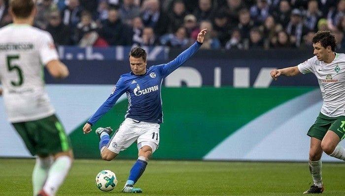 Коноплянка забил гол в Бундеслиге впервые с августа прошлого года / bundesliga.com