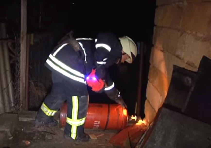 ВОдесской области три человека пострадали из-за взрыва газового баллона вдоме