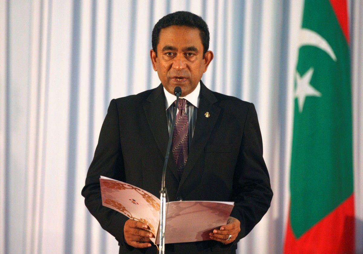 НаМальдивах арестовали прежнего президента