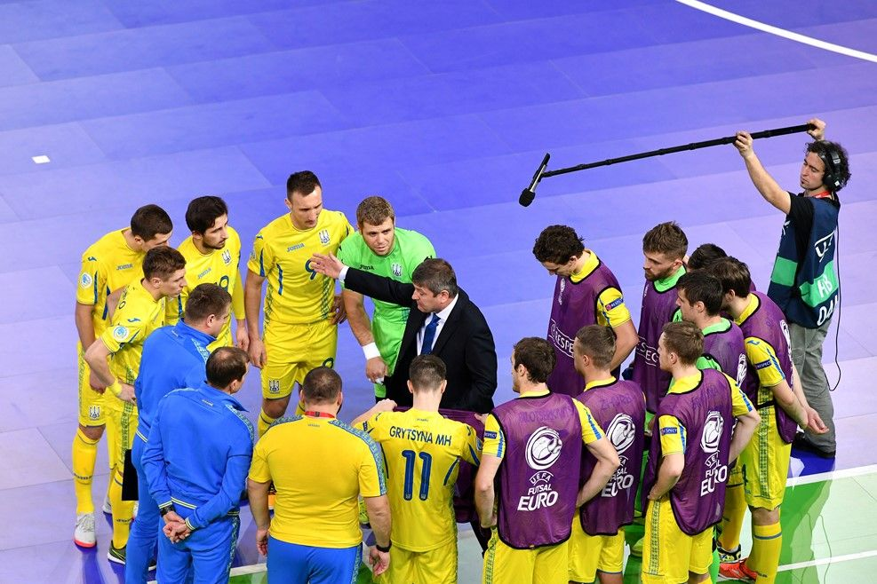 Сборная Украины по футзалу проведет два матча с командой Чехии / uefa.com
