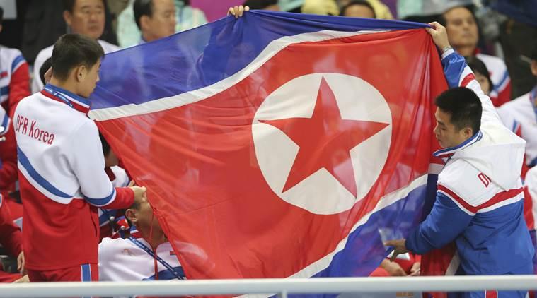 Северокорейские спортсмены / фото The Indian Express