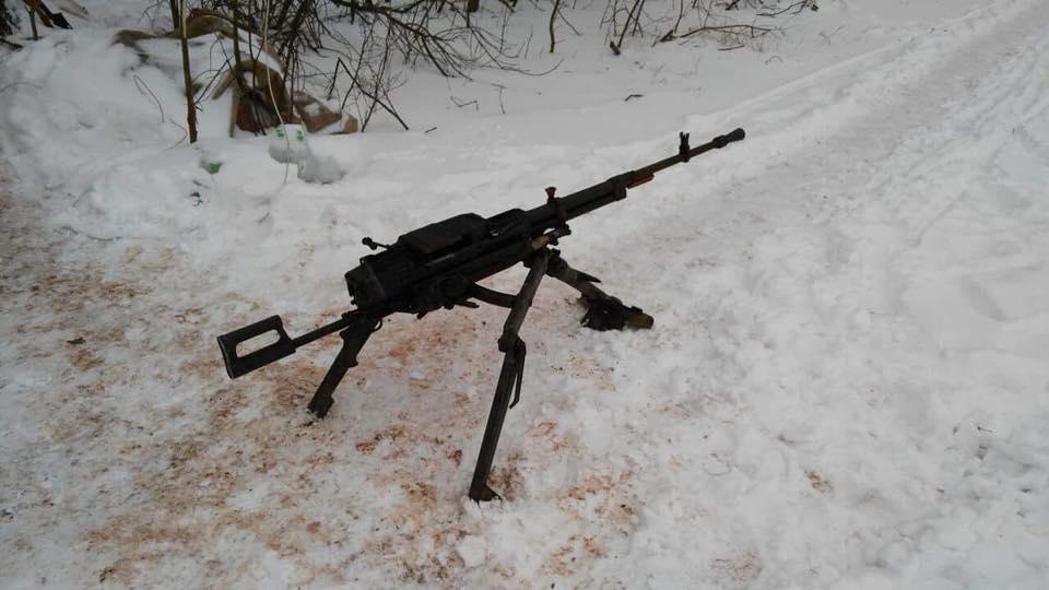Захвачен пулемет НСВТ / фото facebook.com