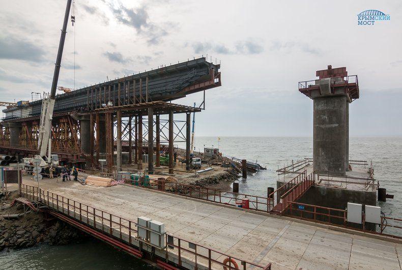 Вчений пояснив, чому на Кримському мосту не змогли узгодити прольоти / фото most.life