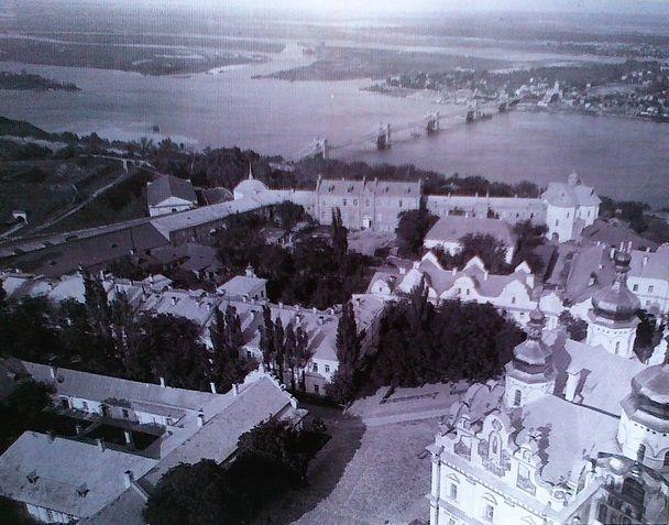 Панорама Києво-Печерської Лаври - фотографія кінця 1930-х років / smartclever.com.ua