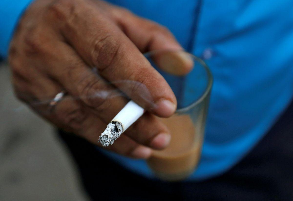 Курильщики едят неменее калорийную пищу, чем те, кто некурит