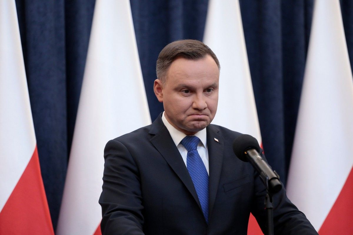 """Дуда возложил на украинские организации времен Второй мировой ответственность за """"геноцид поляков"""" / REUTERS"""