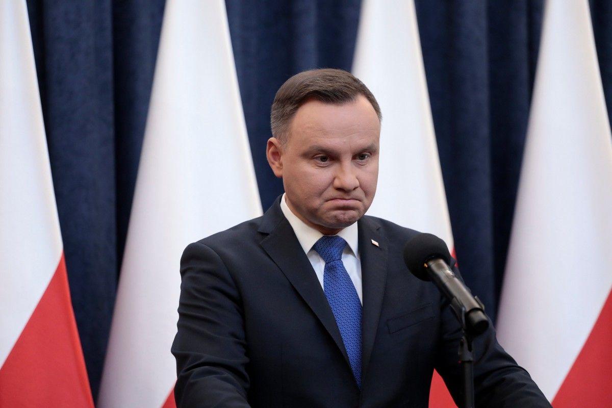 Президент Польши Анджей Дуда \ REUTERS