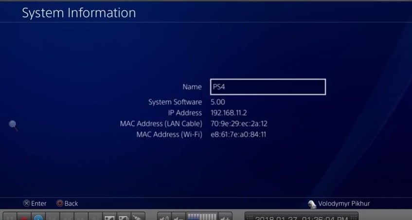 Украинец первым смог взломать новую версию системы PS4 / фото Twitter @vpikhur