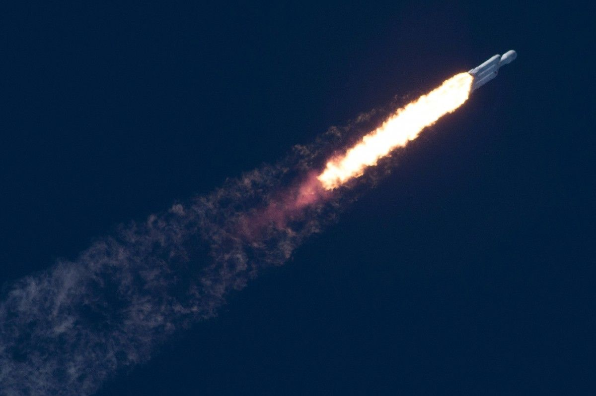 Falcon Heavy / REUTERS