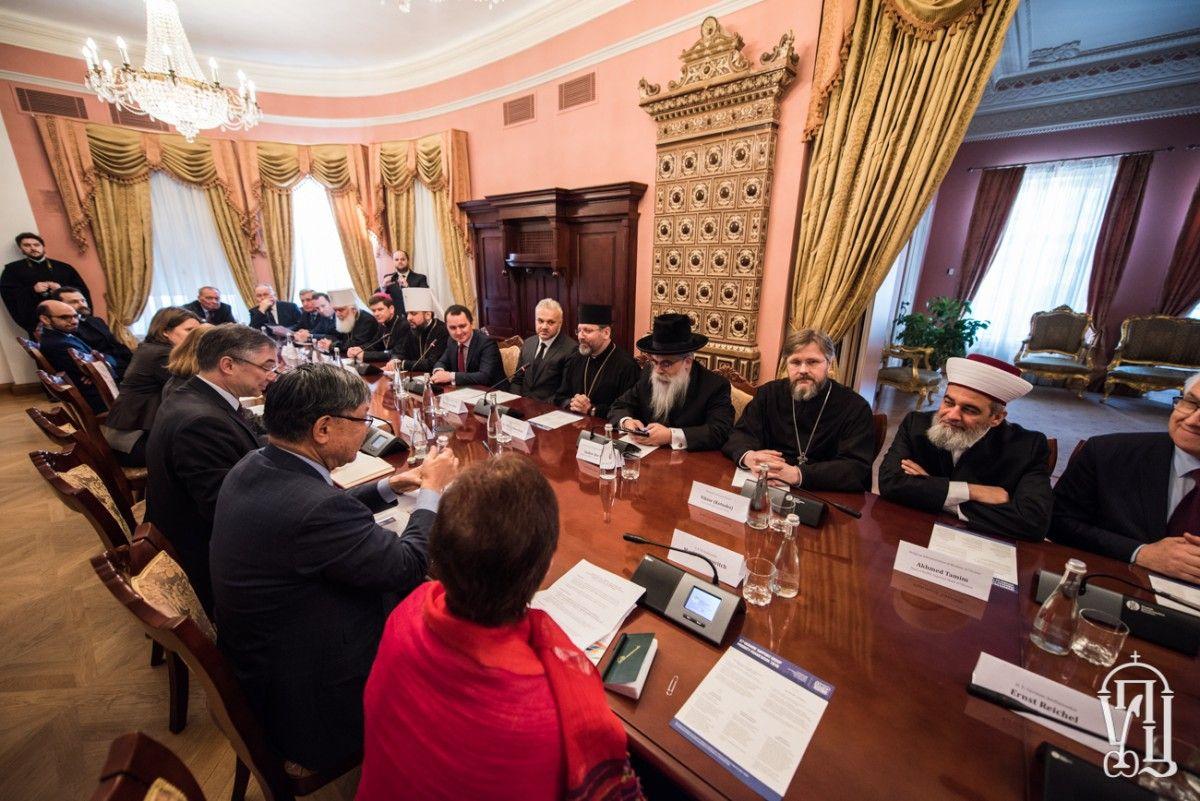 Представители УПЦ приняли участие во встрече с послами стран