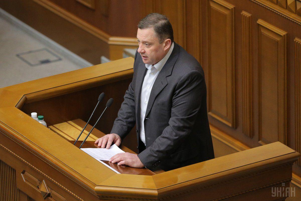 Дубневич закликав спікера та колег не відкладати розгляд інфраструктурного пакету / фото УНІАН