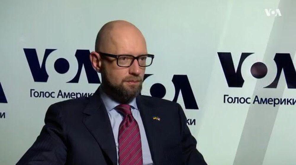 Арсений Яценюк в Вашингтоне / фото nfront.org.ua