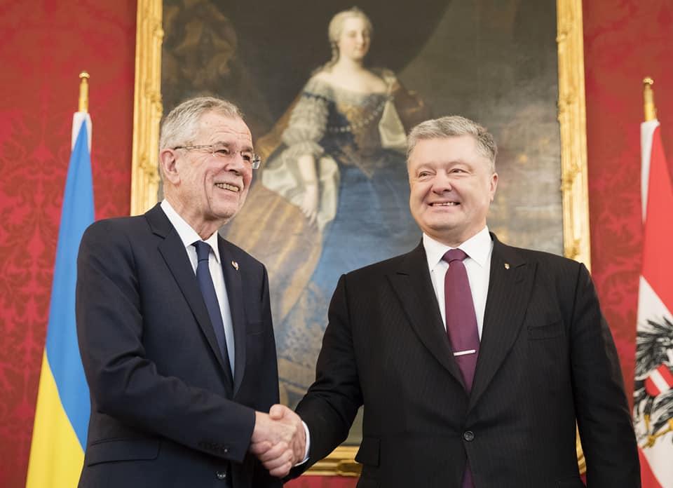 Порошенко выразил благодарность Австрии за поддержку Украины в рамках ЕС / фото facebook.com