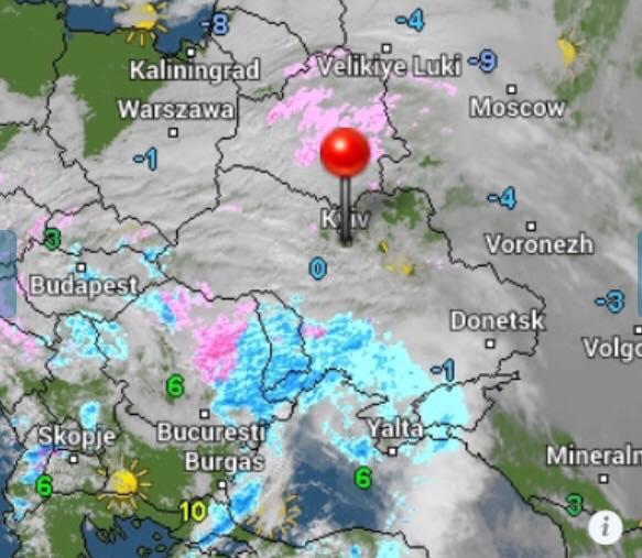 Как выглядит циклон, атакующий Украинское государство — Надвигается мощная стихия
