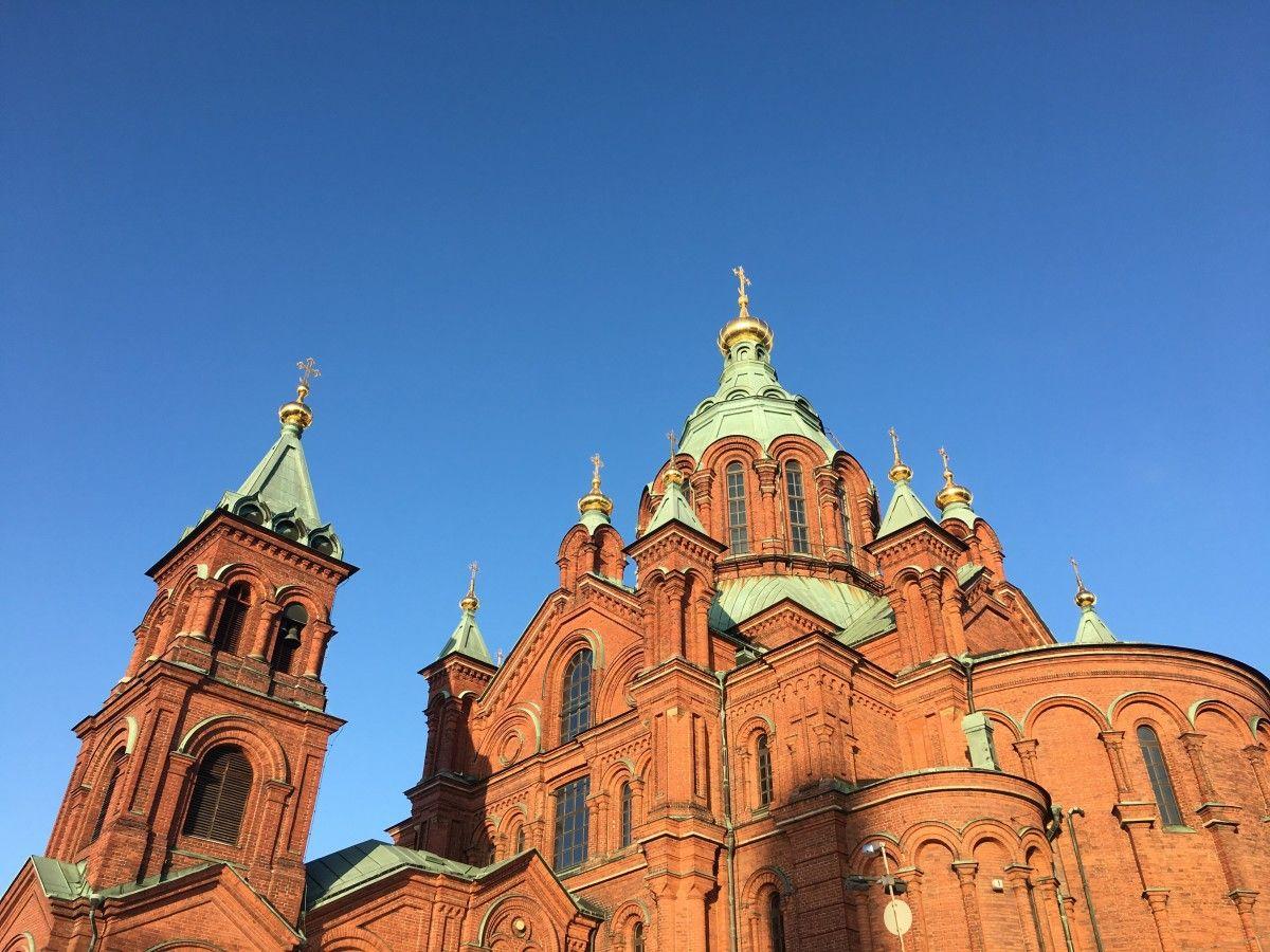 Успенський собор у Гельсінкі / blagovest.fi