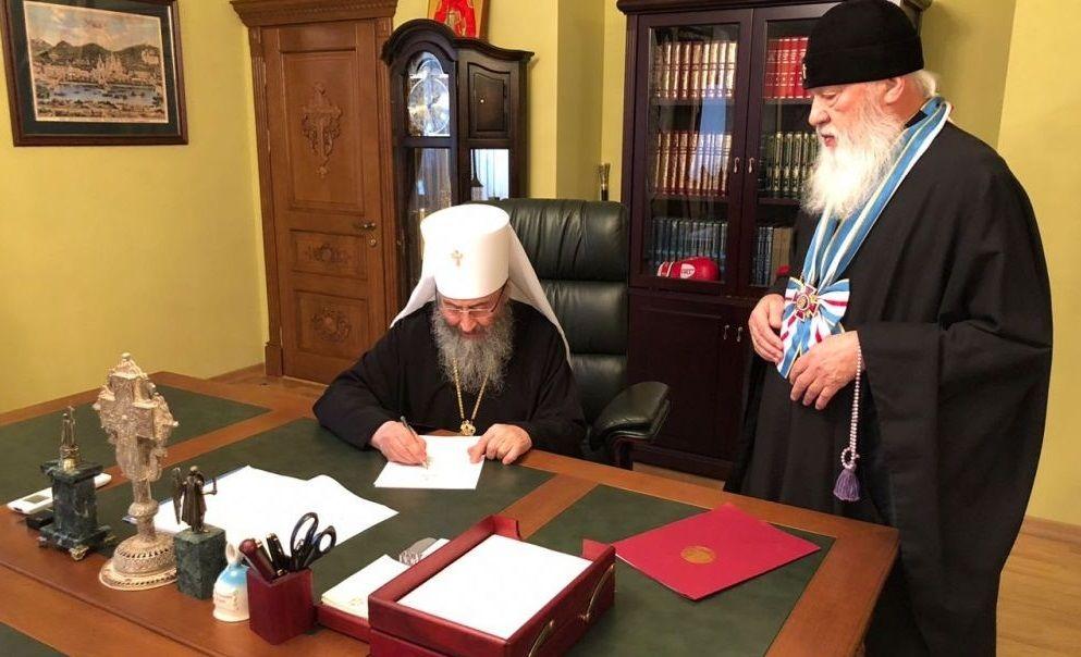 Предстоятель обговорив з митрополитом з митрополитом Одеським та Ізмаїльським майбутній візит / eparhiya.od.ua