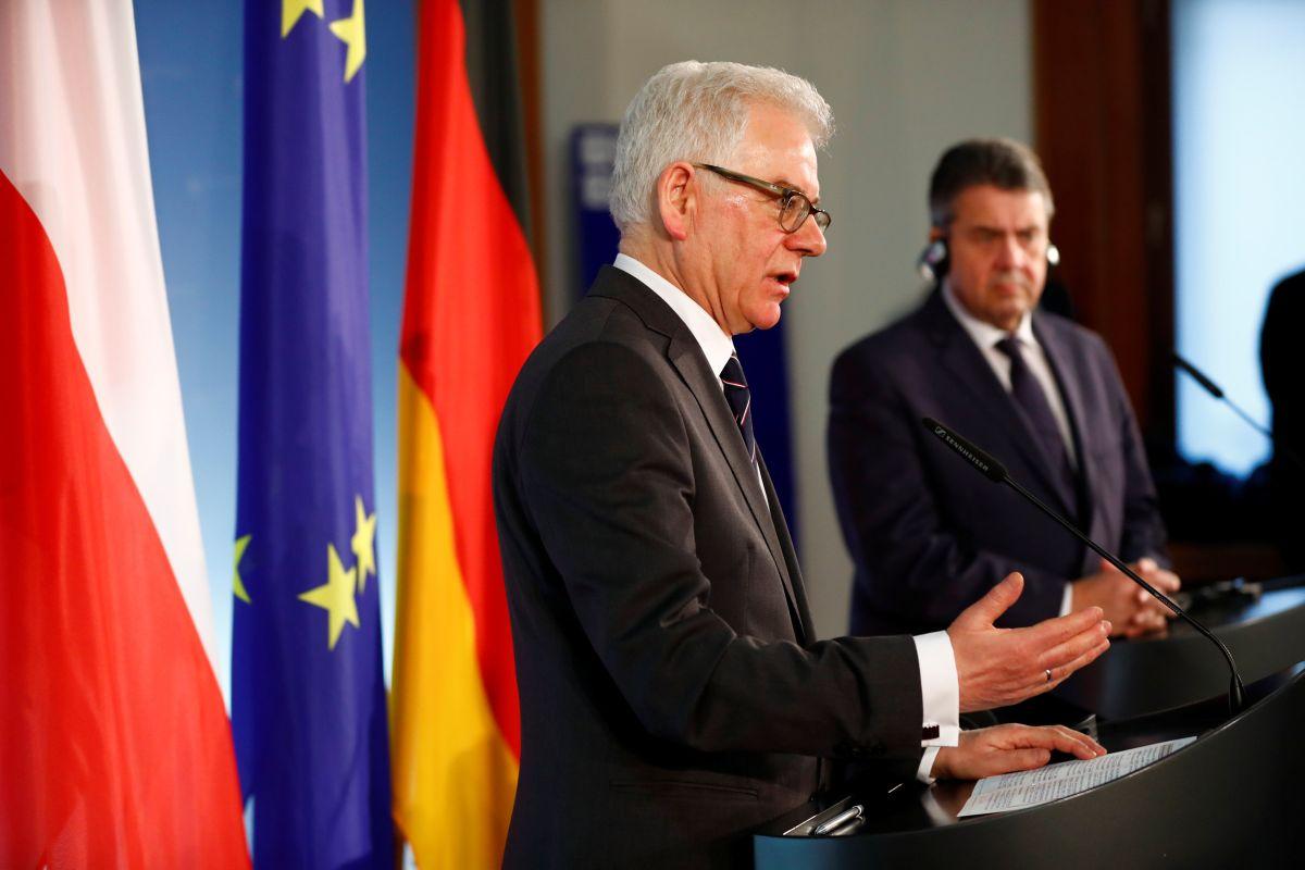 Министр иностранных дел Польши Яцек Чапутович / фото REUTERS