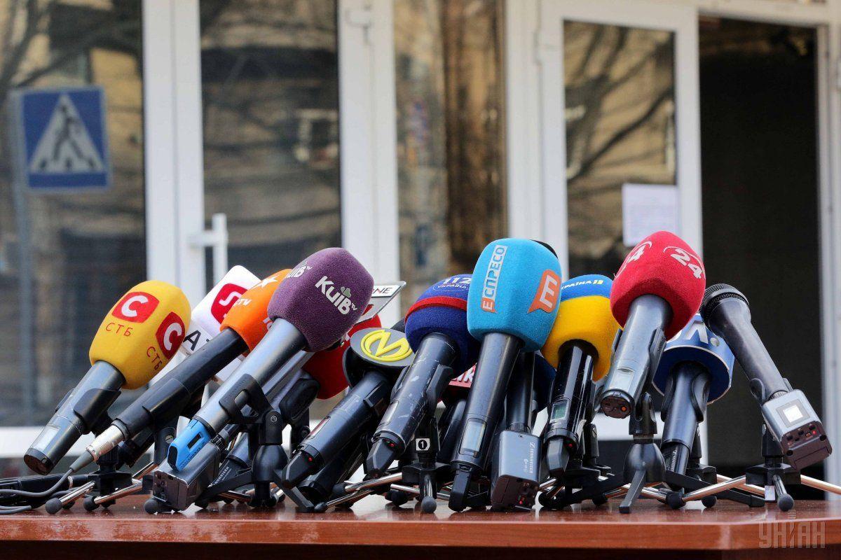 В июне произошло 6 нападений на журналистов / фото УНИАН