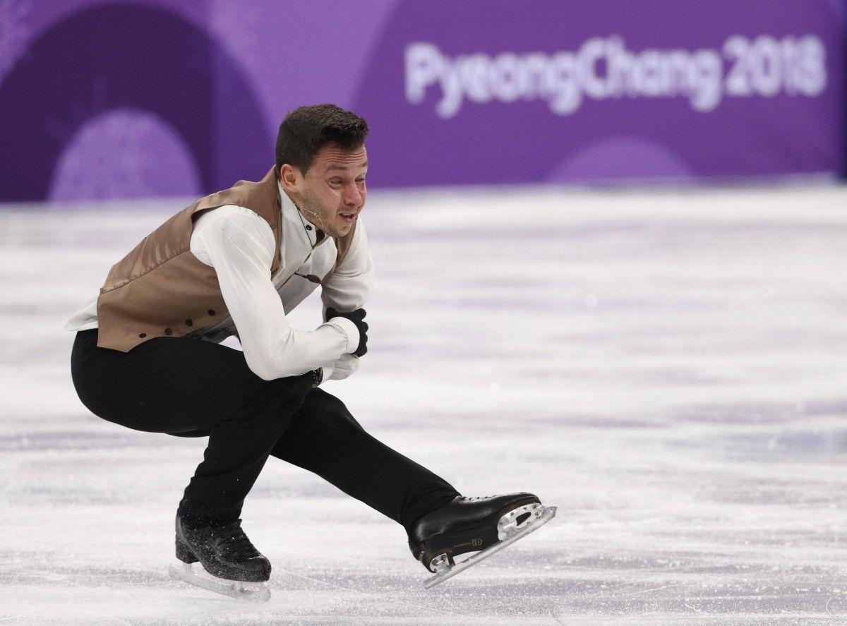 Быченко занял 2-е место в командном турнире в мужском одиночном фигурном катании / Reuters