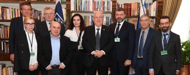 Руководство Мемориала встретилось в Израиле с Реувеном Ривлином / mailchi.mp