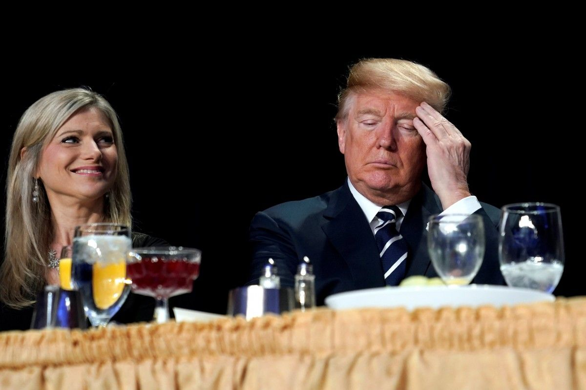 Trump at the National Prayer Breakfast / Jonathan Ernst, REUTERS