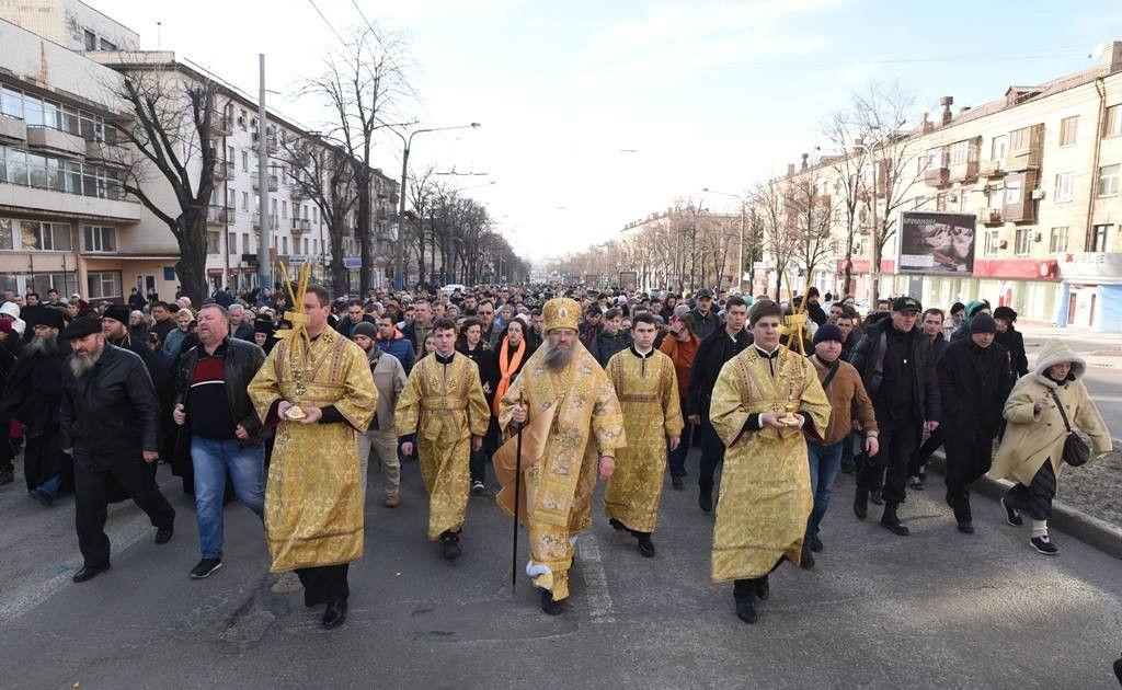Крестный ход пройдет по Соборному проспекту, от храма Святой равноапостольной великой княгини Ольги / hram.zp.ua