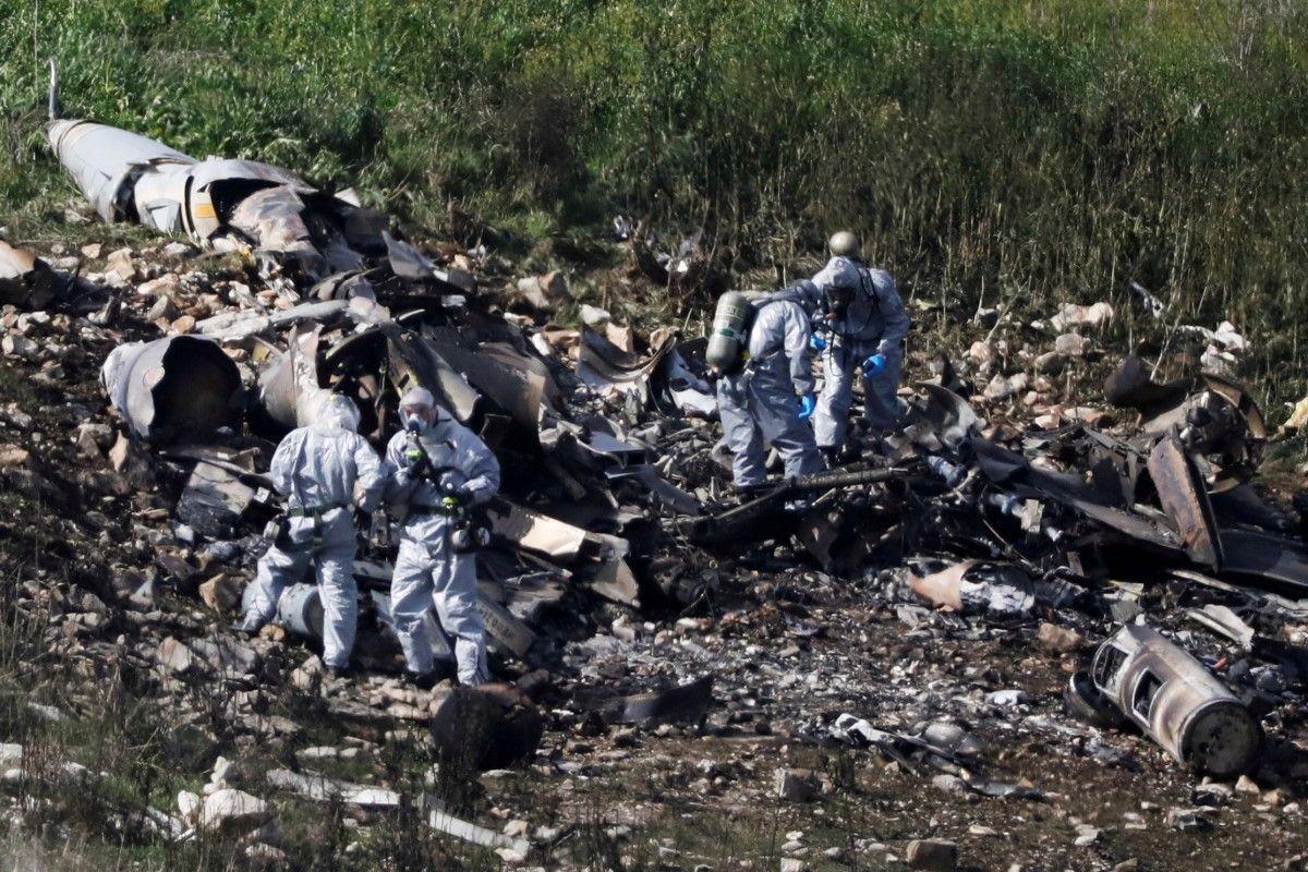 Крах F-16 / REUTERS