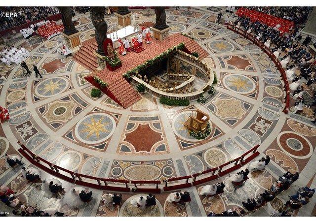 Служба занимается подготовкой всего необходимого для церемоний, совершаемых понтификом или от его имени / radiovaticana.va