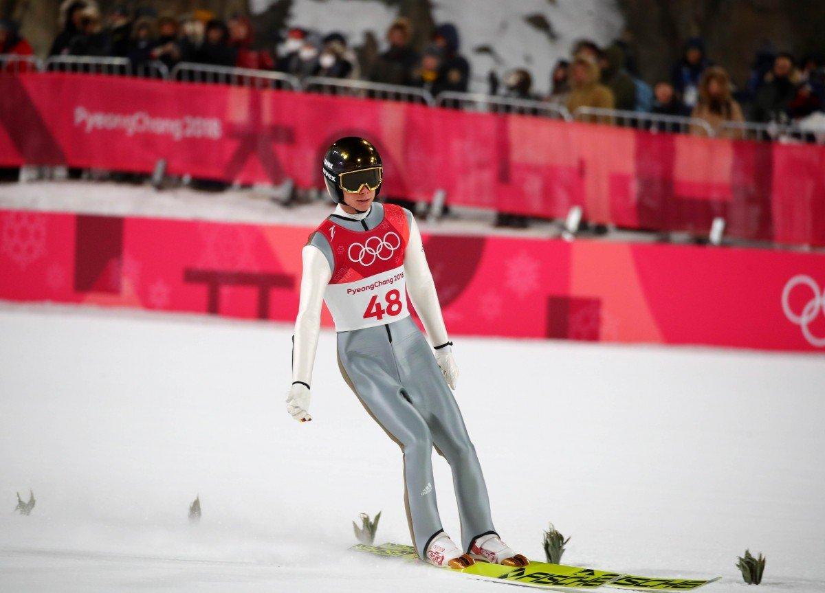 22-летний германец стал Олимпийским чемпионом попрыжкам страмплина