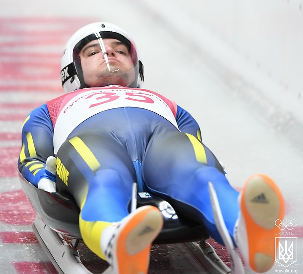 Антон Дукач после двух заездов занимает 21-е место / noc-ukr.org