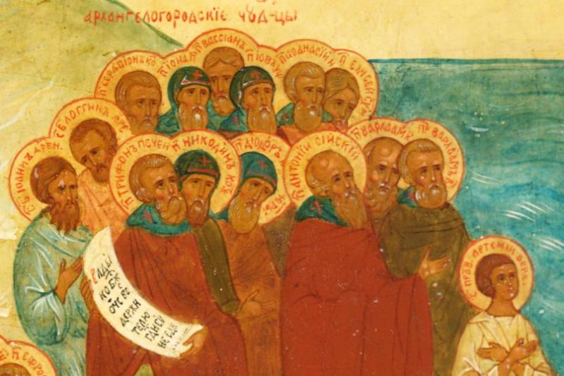 В Собор святих Архангельської митрополії увійшов 91 угодник / arh-eparhia.ru