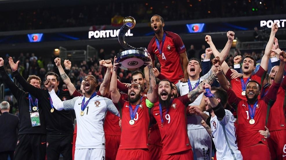 Збірна Португалії з футзалу вперше виграла чемпіонат Європи / uefa.com